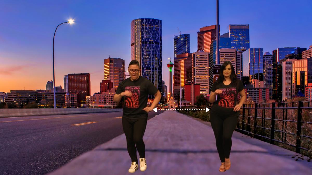 Expo Latino dancers in Calgary